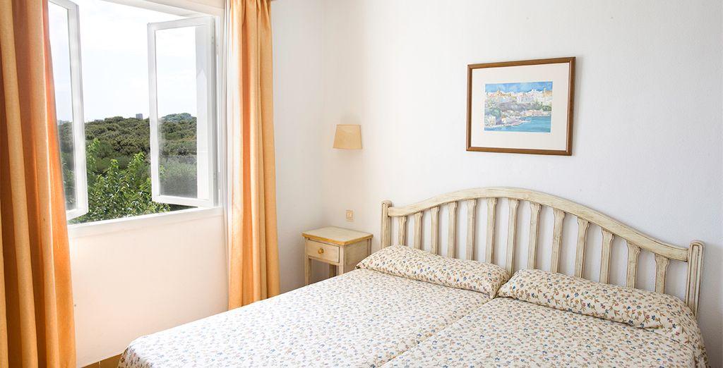 Apartamentos con 2 dormitorios amplios y cómodos