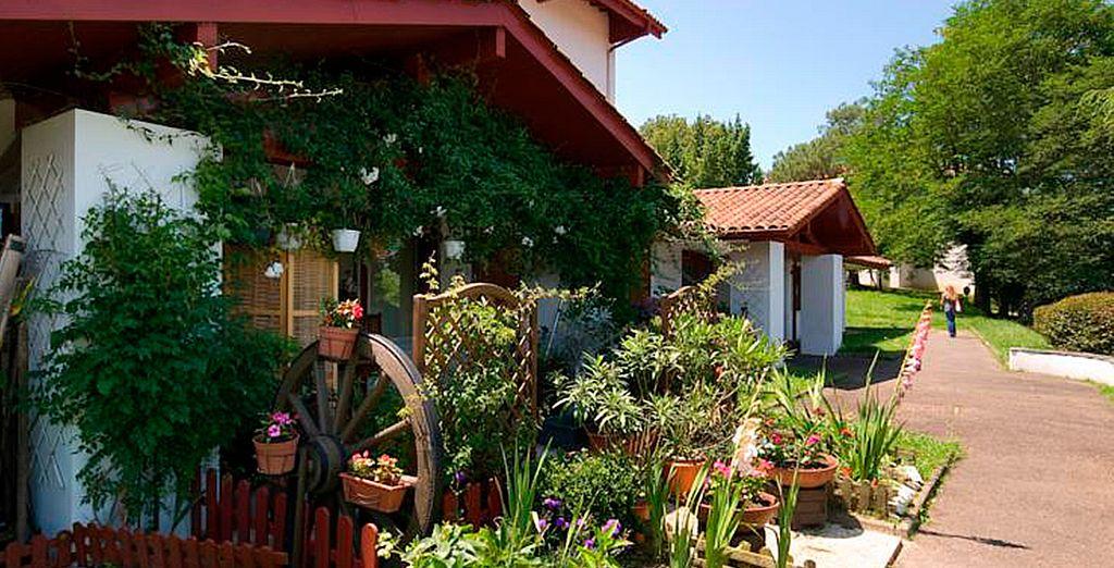 Pierre & Vacances Les Terrasses d'Arcangues le da la bienvenida