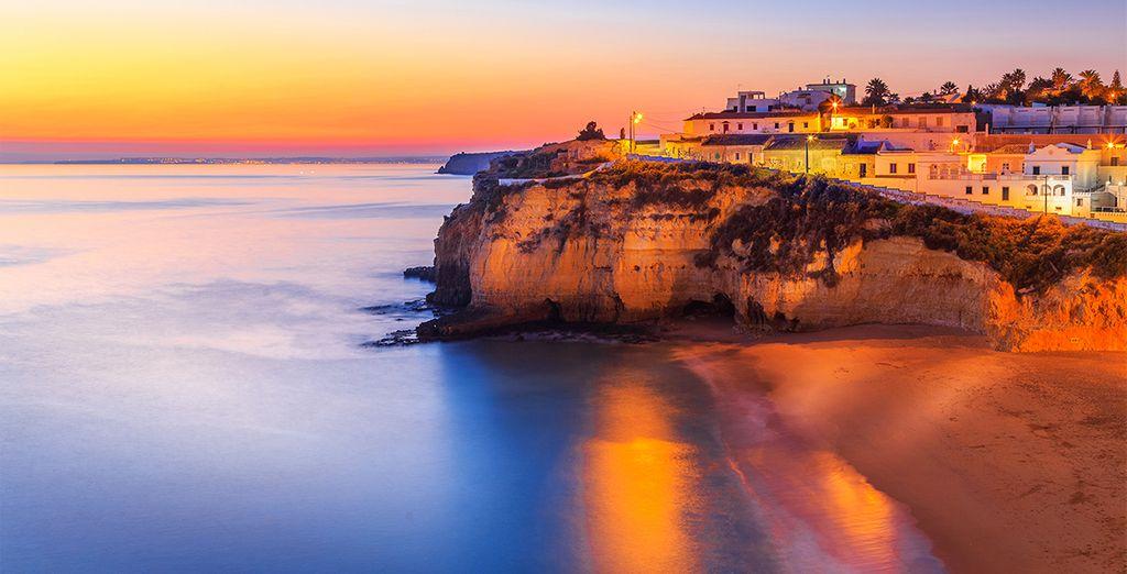 Te presentamos la hermosa Albufeira, en el sur de Portugal ...