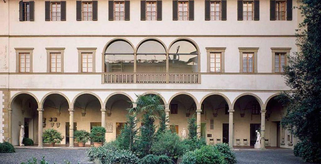 Hotel palazzo Ricasoli, Florencia