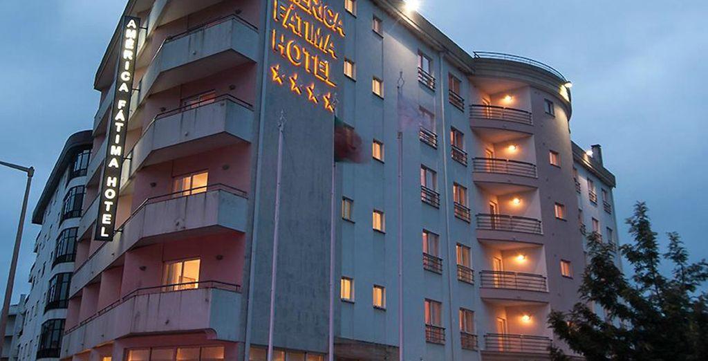 En séjournant à l'hôtel Luna Fatima