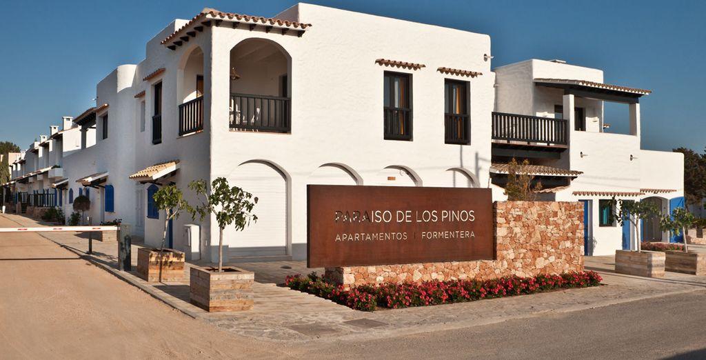 Un petit hôtel 5* - Hôtel Paraiso de los Pinos 4* Formentera