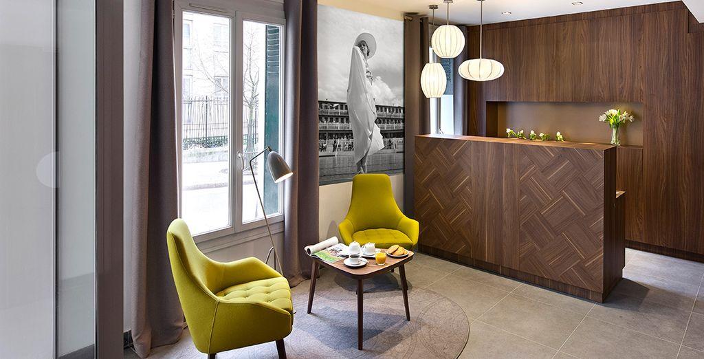 Découvrez l'hôtel Best Western Premier 61 Paris Nation...