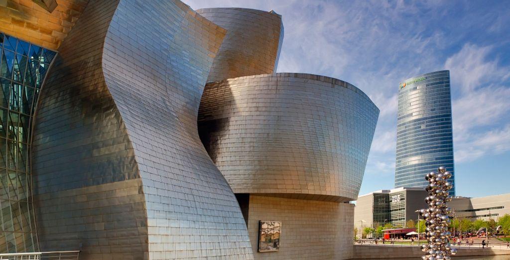 Offrez-vous un city break à Bilbao...
