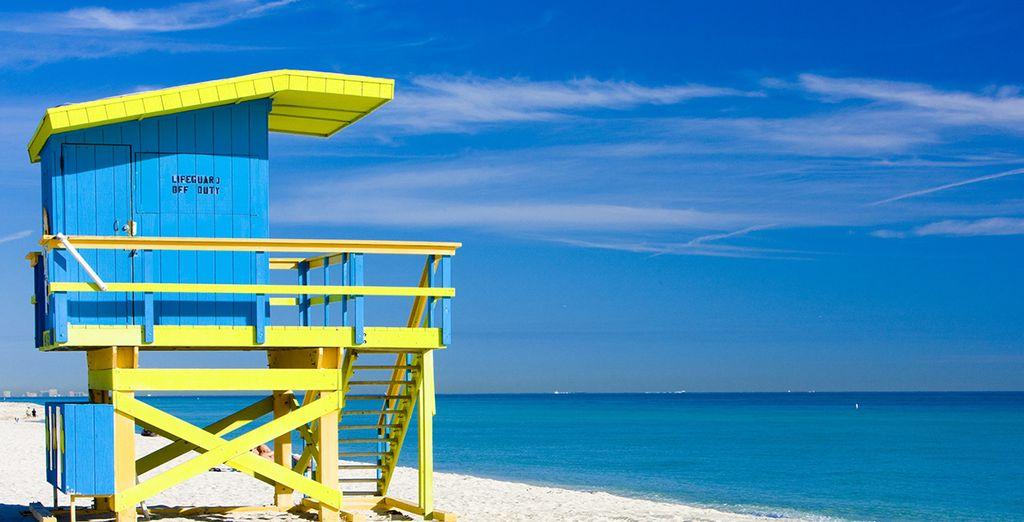 Démarrez en beauté par un séjour de 3 nuits à Miami Beach