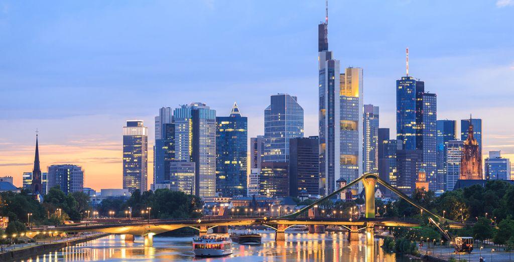 Venez aussi découvrir la capitale financière de l'Allemagne