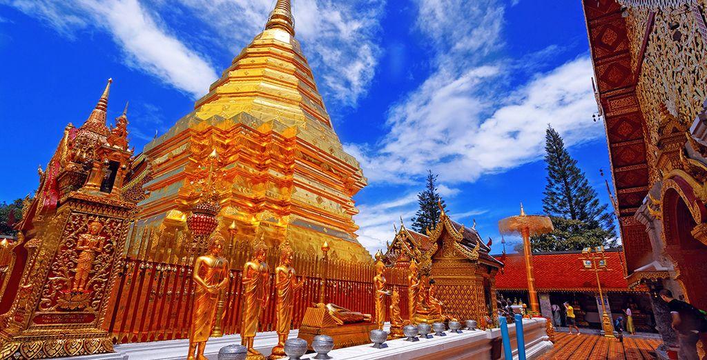 Ou encore par Chiang Mai et le Triangle d'Or