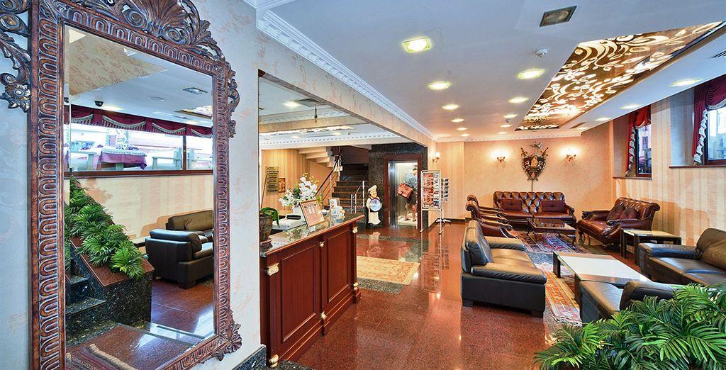 Le Byzantium Hôtel & Suites vous accueille...