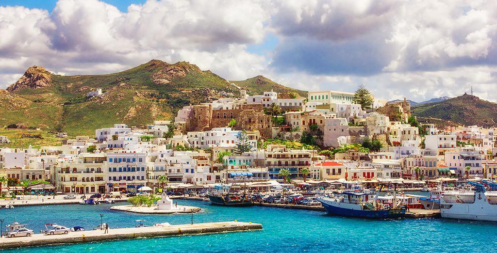 Partez à la découverte de l'île de Naxos, aux Cyclades !