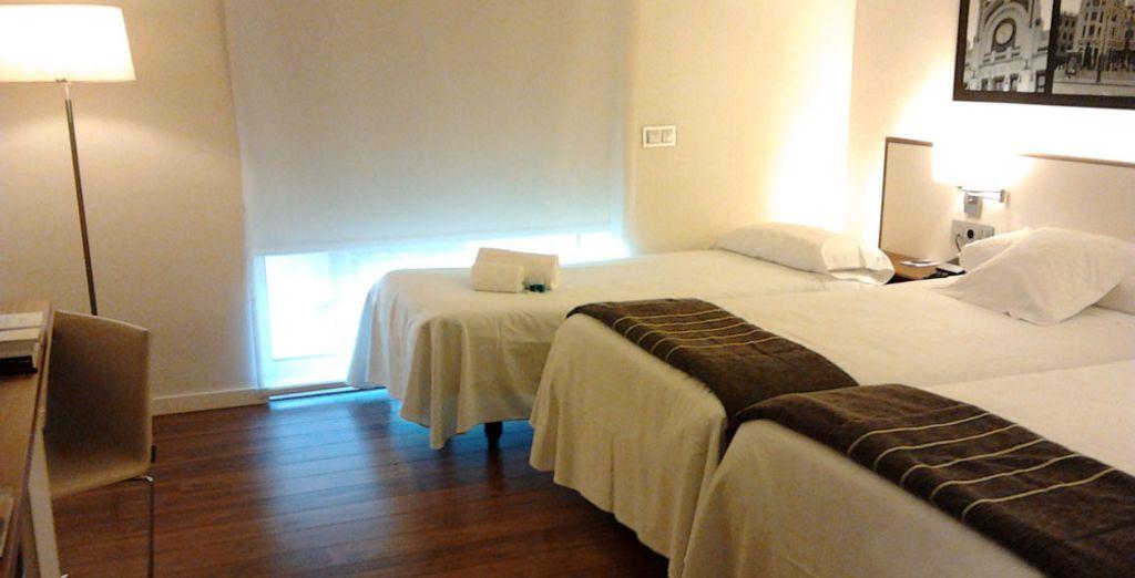 Ou en chambre Triple, idéale pour les familles et amis ?
