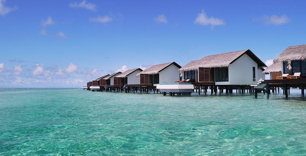 Rendez-vous dans votre sublime Water Villa...