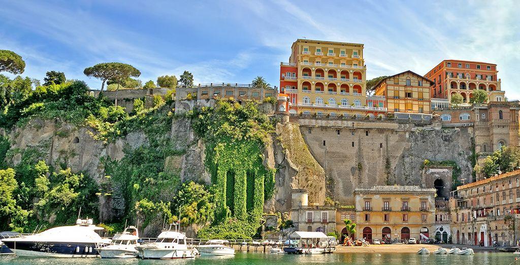 La ville de Sorrento et ses merveilles ne sont qu'à 40 kilomètres