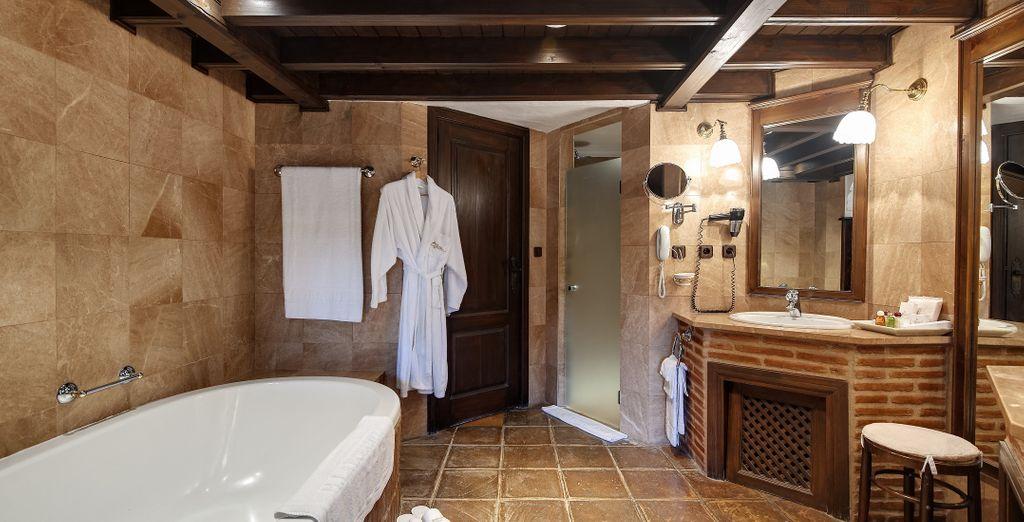 Le décor authentique des salles de bains