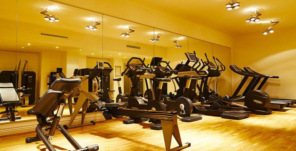 Entretenez votre corps à la salle de fitness