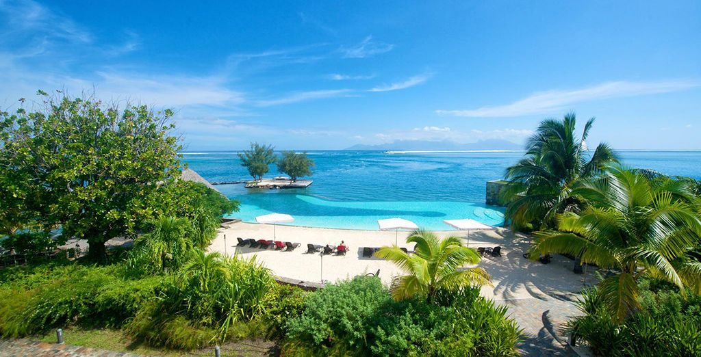 De l'hôtel Manava Suite Resort 4* à Tahiti