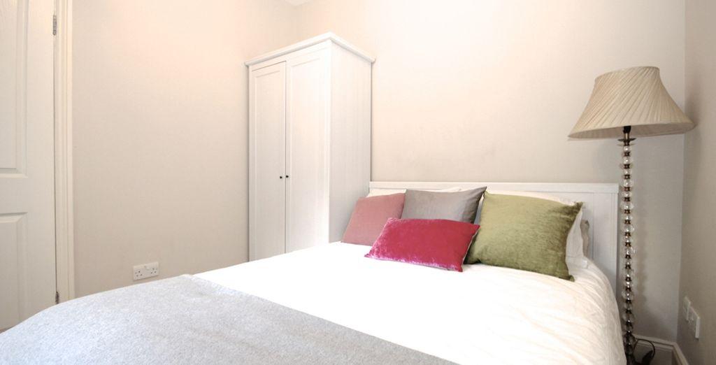 Avant de retrouver le confort de votre chambre