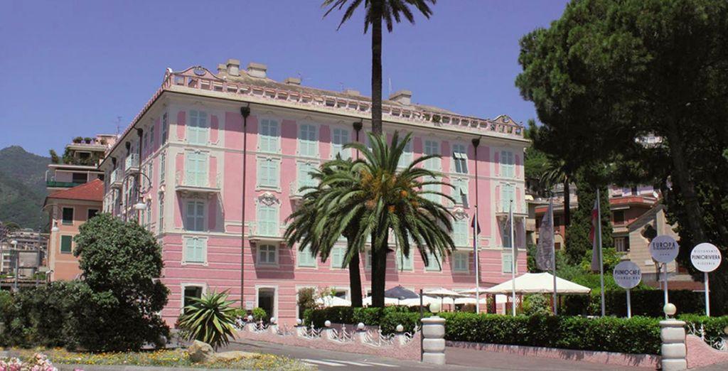 Installez-vous dans l'Europa hôtel Design & Spa - Europa hôtel design Spa 1877 Rapallo