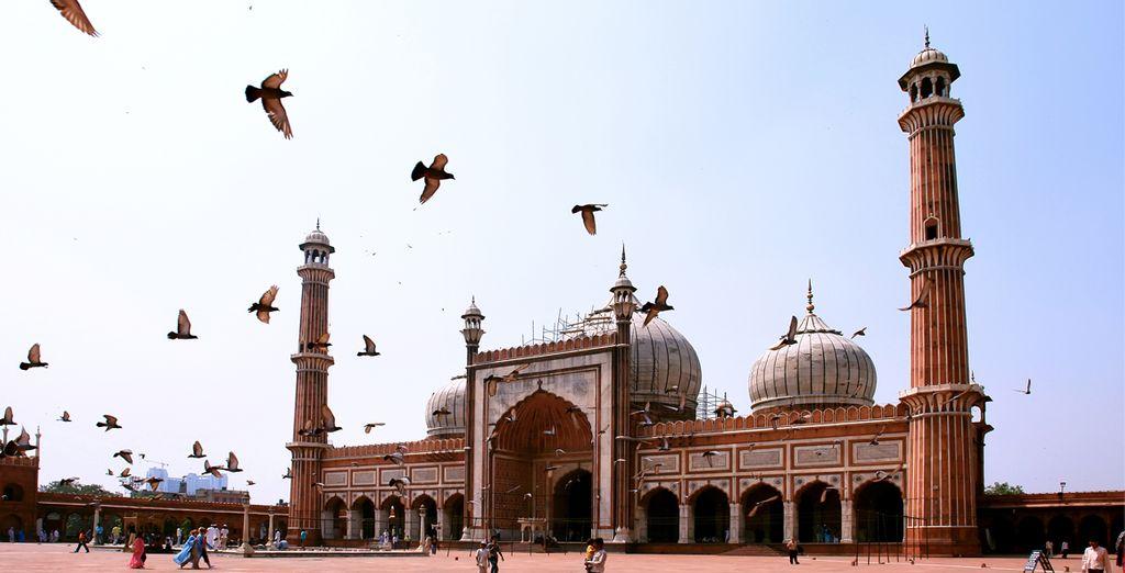 Au départ de New-Delhi
