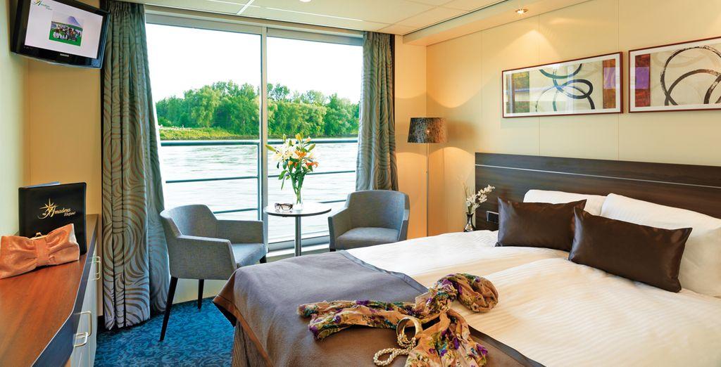 Hébergement lors d'une mini-croisière sur le Danube, chambre deux places, sélectionné par Voyage Privé