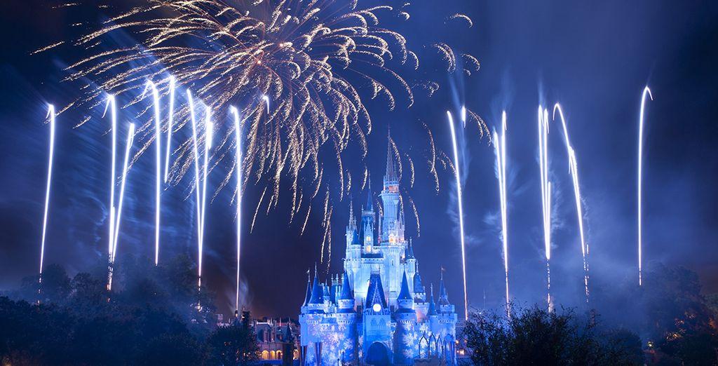À vous les parcs d'attractions féériques à Orlando!