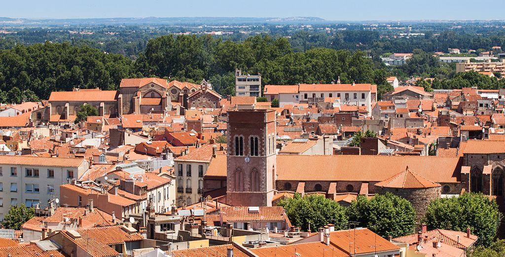 Au coeur de la ville de Perpignan - Hôtel Quality Centre del Mon 4* Perpignan
