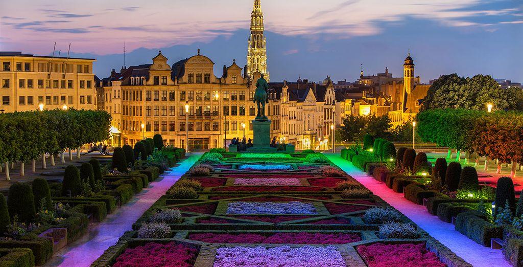 Et Bruxelles n'est qu'à une petite demi heure de route