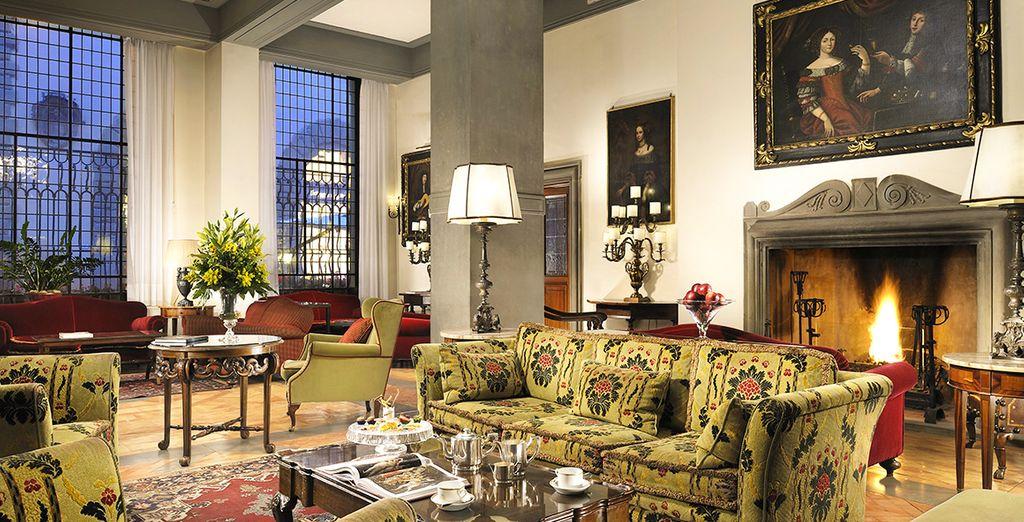 Entrez dans l'un des hôtels de luxe les plus prestigieux de Florence ! - Hôtel Helvetia & Bristol 5* Florence