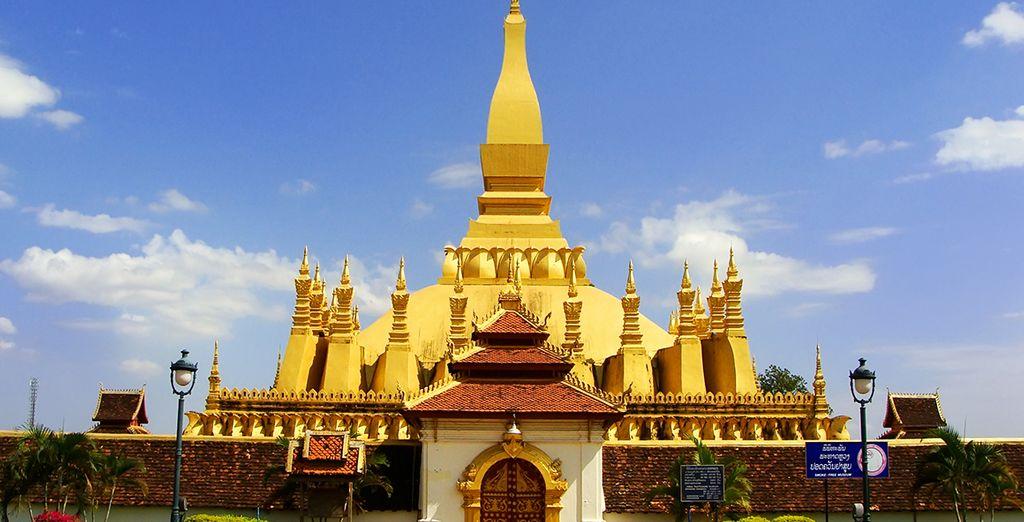 Visitez les monuments incontournables de Vientiane