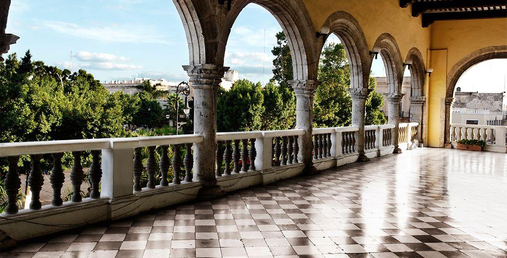Visitez l'incontournable ville de Mérida...