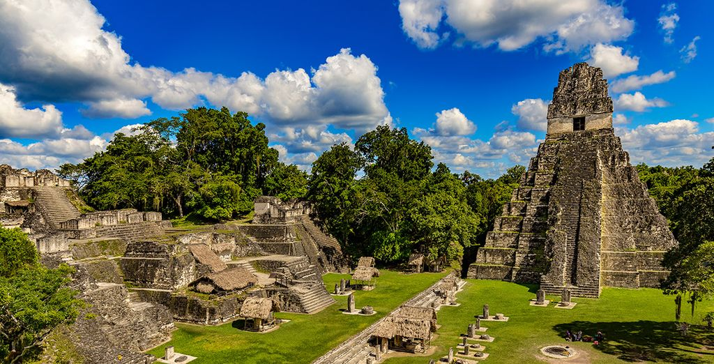 Les temples mayas de Guatemala City