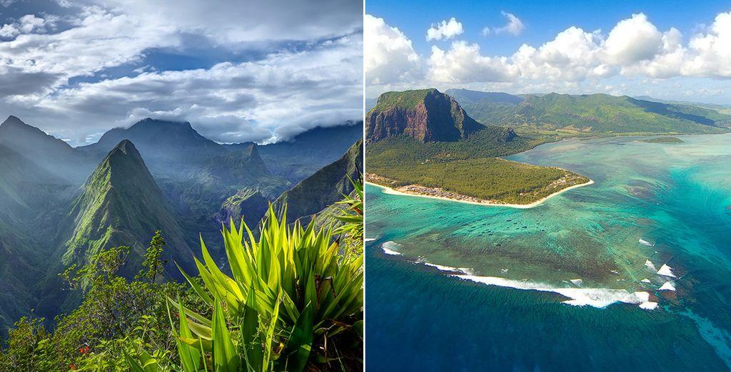 Rêvez deux fois plus... Et partez pour un circuit combiné de l'île de la Réunion à l'île Maurice - Circuit combiné île de La Réunion &  île Maurice St Denis de la Reunion
