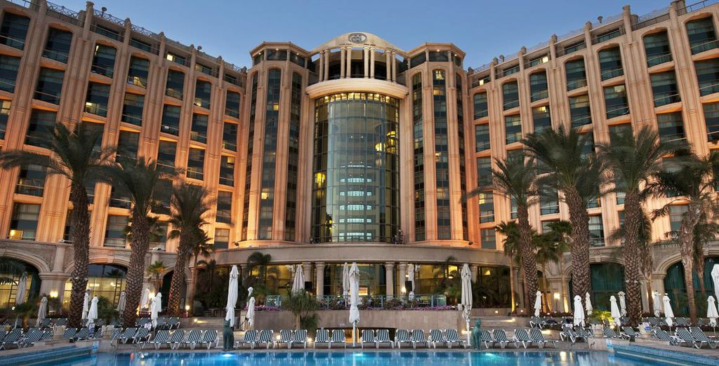 Celle du majestueux hôtel Hilton Eilat 5*