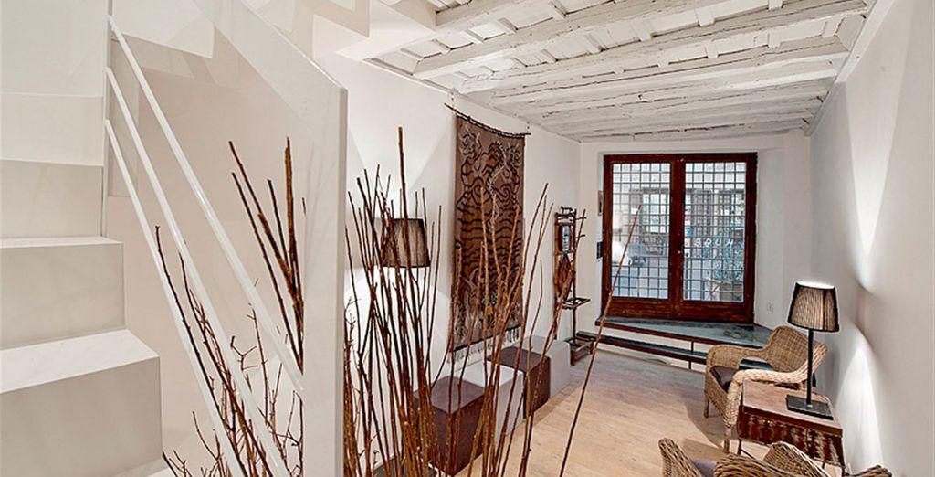 Appartement 4 : L'espace détente