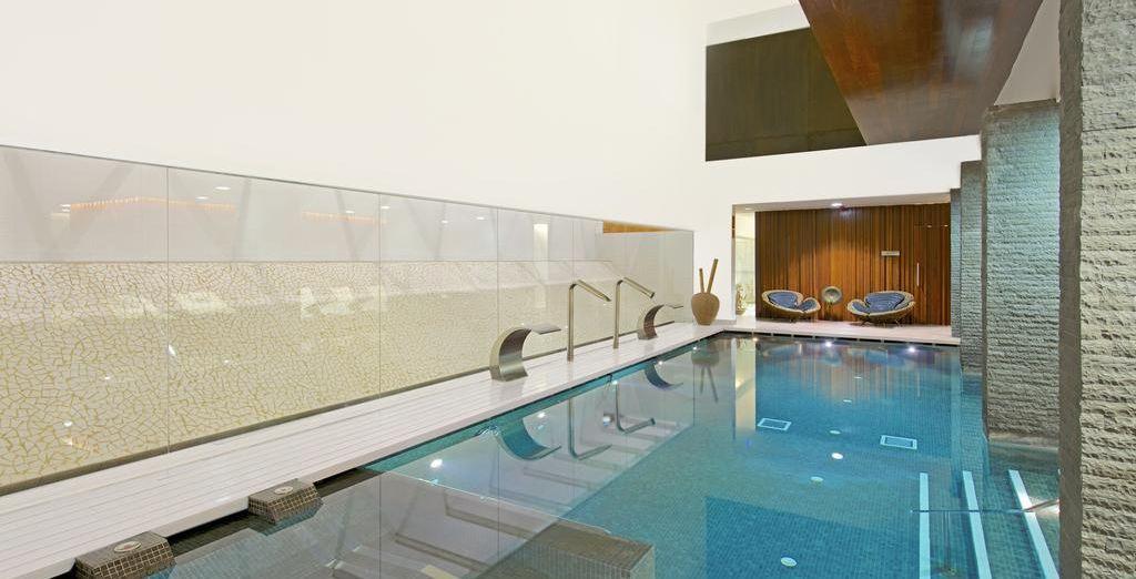 L'hôtel compte aussi un spa