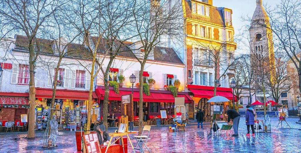 Et de prendre un café à Montmartre