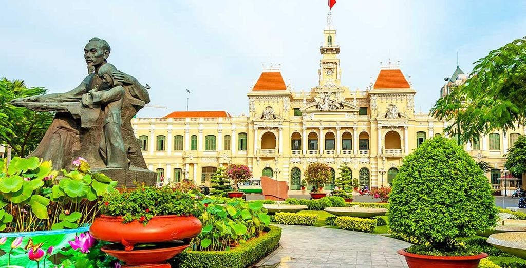 Beauté du patrimoine à Ho Chi Minh