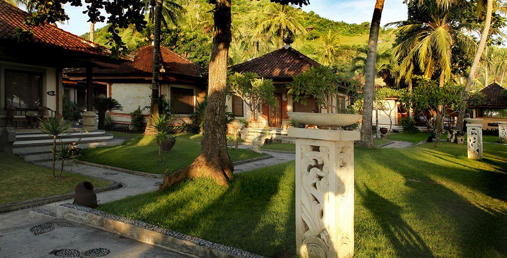 Durant le circuit Charmes de Bali & séjour plage
