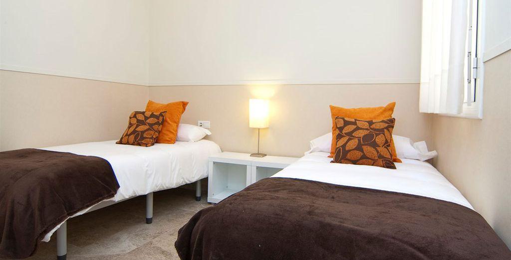 Appartement 6 : Une seconde chambre
