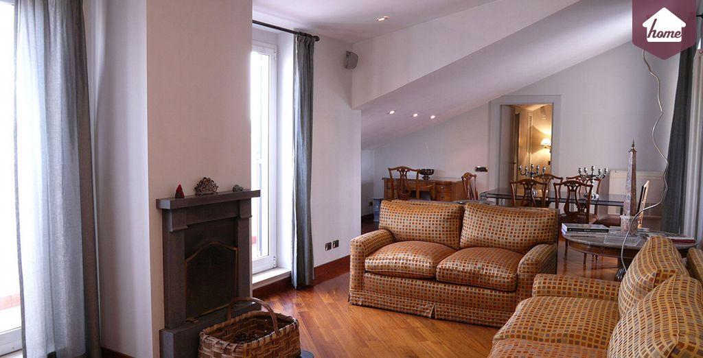Prêts pour la Dolce Vita? - Appartement 3 chambres pour 5 personnes (120m2) Rome