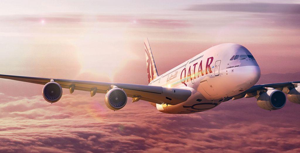 Partez avec Qatar Airways !