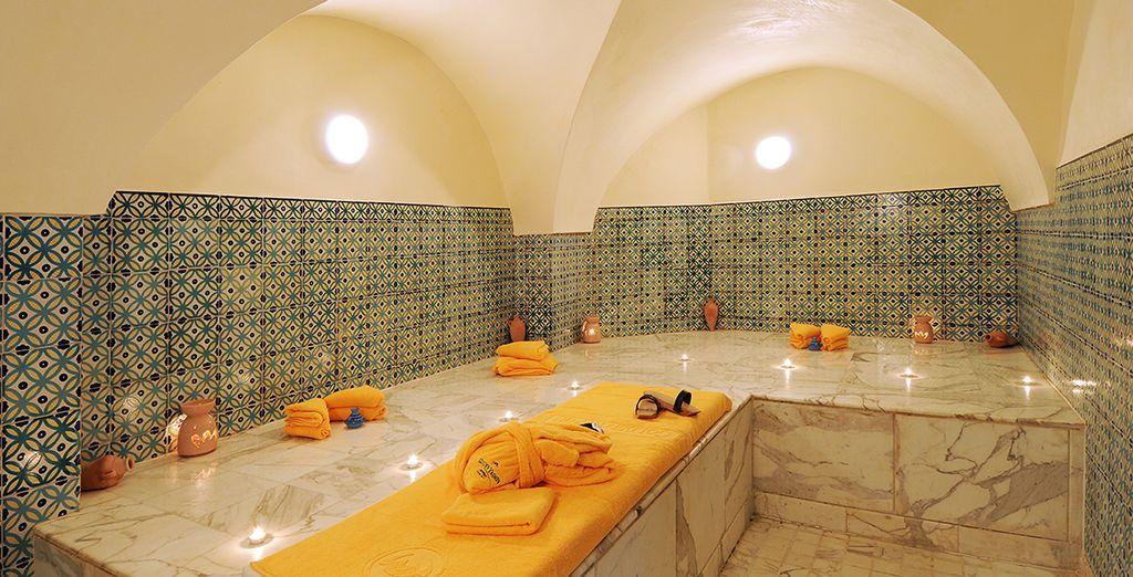 Ou bain turc, vous trouverez toujours une activité qui vous correspond
