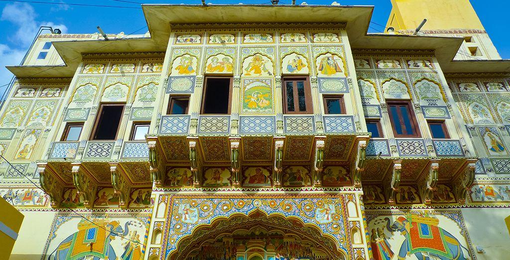 Avant d'aller découvrir les merveilles du Shekewati, la galerie en plein air du Rajasthan...