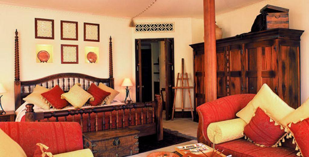 La chambre de la suite Bedouin