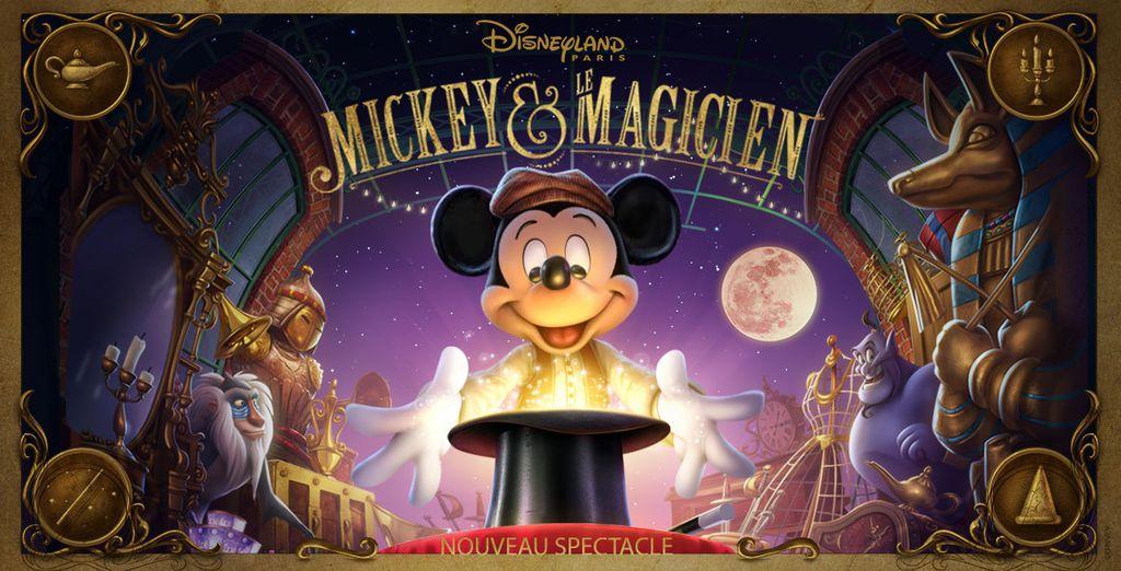 Sans oublier Mickey et le Magicien : le nouveau spectacle d'illusions