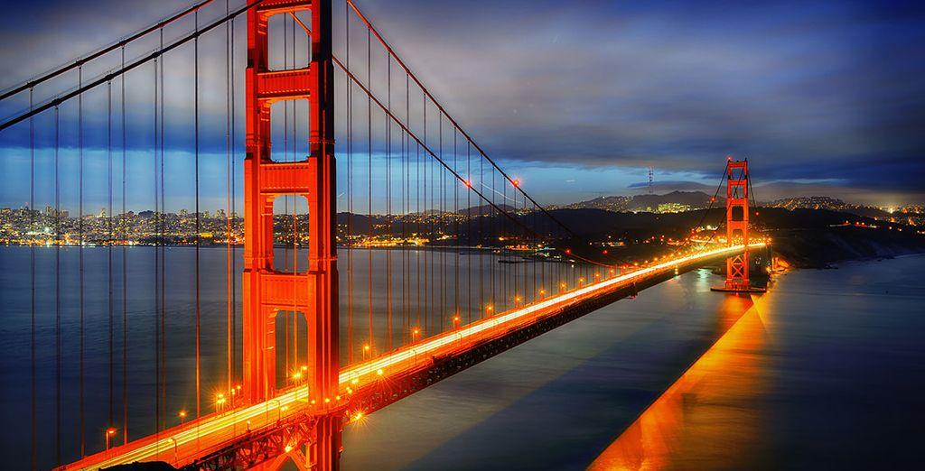 Vous visiterez San Francisco