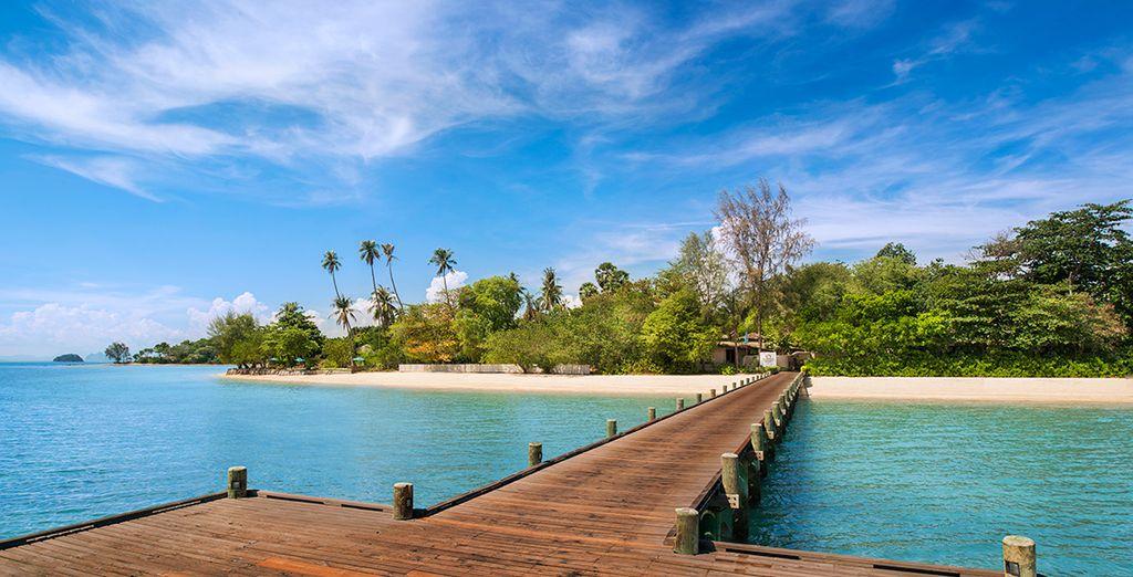 Direction l'île de Naka - The Naka Island & Spa 5* Ile de Naka