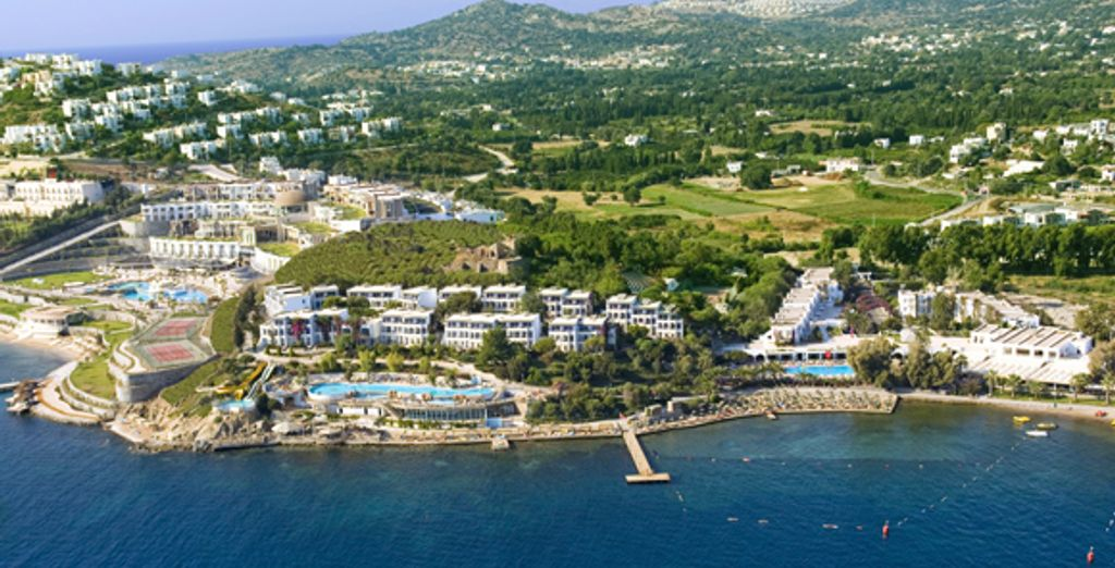 - Hôtel Kadikale Resort Spa & Wellness *****  Bodrum