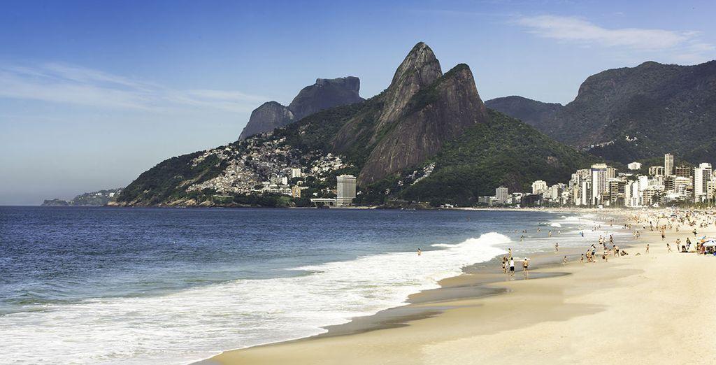 Grâce à l'emplacement de votre hôtel, vous serez situé à quelques pas de la plage de Copacabana