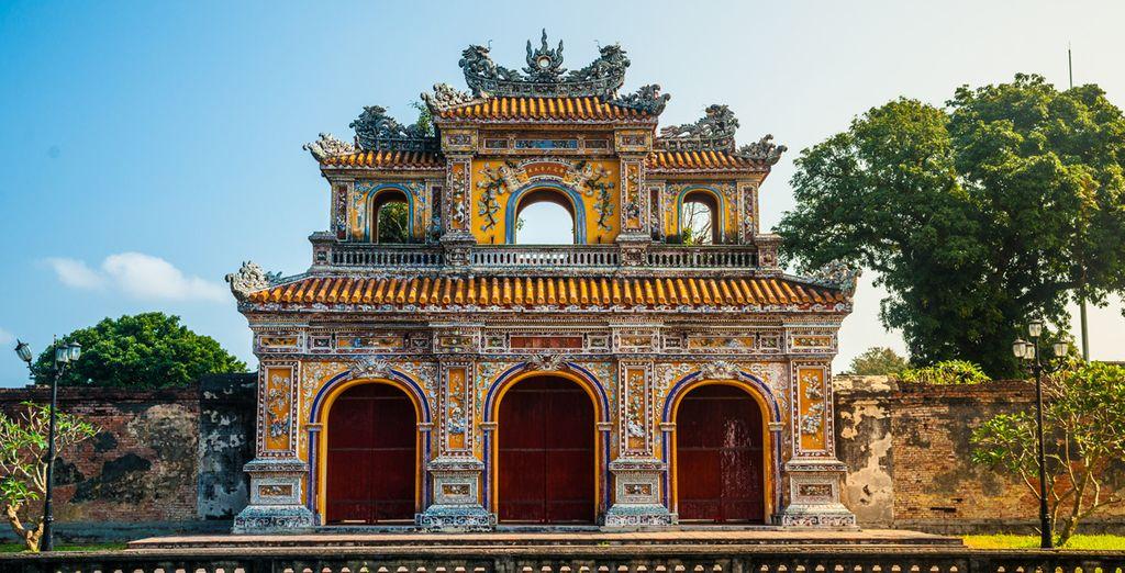 Vous émerveillerez devant la Cité Impériale de Hue
