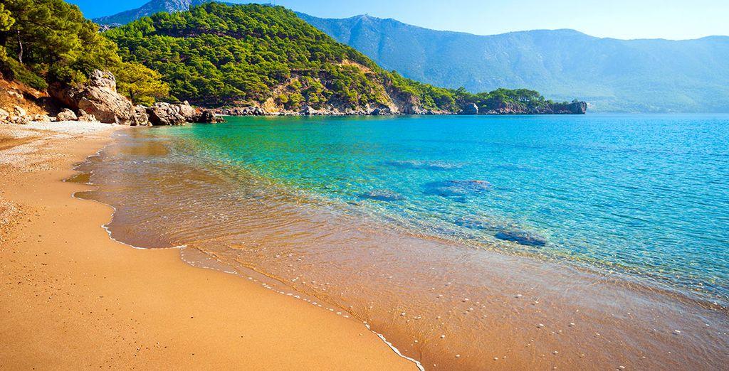 Avant de découvrir les trésors d'Antalya